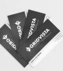 Multipurpose Custom Gridvista Business Card (1 Sided)