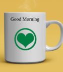 Classic Good Morning Love Custom Multipurpose Mug