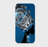 Custom African Woman iPhone 5/5s Phone Case